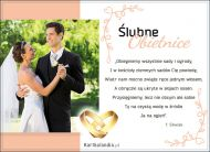 eKartki Ślubne Ślubne obietnice,