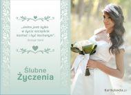 eKartki elektroniczne z tagiem: e-Kartka na ślub Ślubne życzenia,