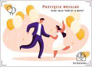 eKartki Ślubne Przyjęcie weselne,