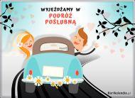 eKartki Ślubne Wyjeżdżamy w podróż poślubną!,