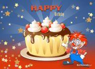 eKartki Urodzinowe Urodzinowe ciacho,