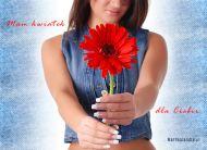 eKartki Urodzinowe Urodzinowy kwiat,