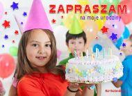eKartki Urodzinowe Zaproszenie urodzinowe,