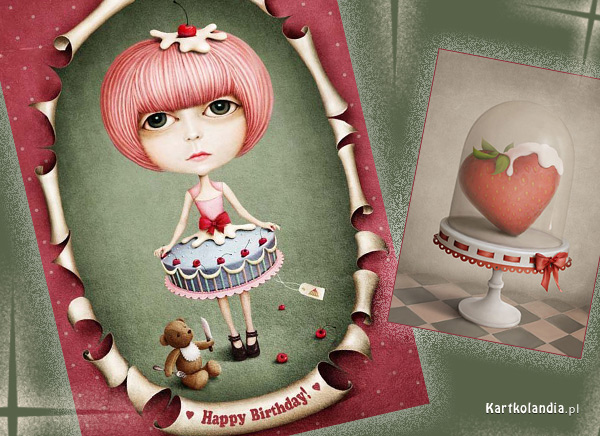 Karteczka na urodziny