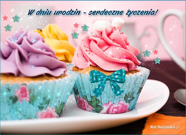 Pastelowe muffinki