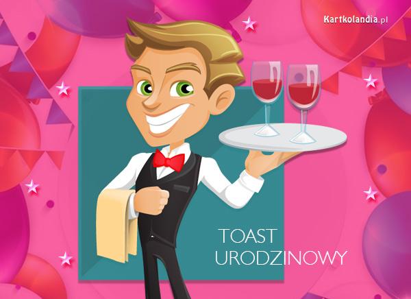 Toast urodzinowy