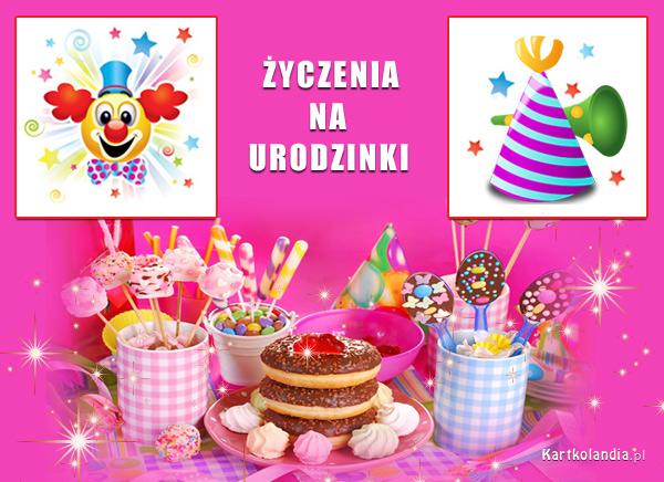 Życzenia na urodzinki