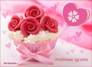 eKartki Urodzinowe Różowe urodziny,
