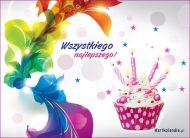 eKartki Urodzinowe Urodzinowa słodycz,