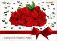 eKartki Urodzinowe Urodzinowe ró¿e dla Ciebie,