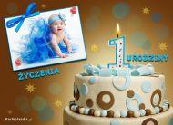 eKartki elektroniczne z tagiem: 1 urodziny ¯yczenia na 1 urodziny,