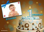 eKartki Urodzinowe ¯yczenia na 1 urodziny,