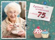 eKartki Urodzinowe ¯yczenia urodzinowe na 75,
