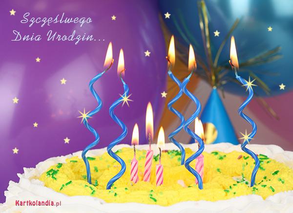 Szczęśliwego Dnia Urodzin