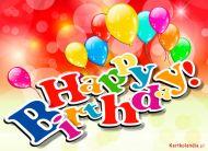 eKartki Urodzinowe Happy Birthday,