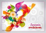 eKartki Urodzinowe Kwiatuszki urodzinowe,