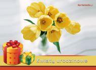 eKartki Urodzinowe Kwiaty urodzinowe,