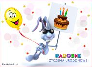 eKartki Urodzinowe Radosne życzenia urodzinowe,