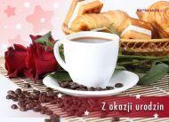 eKartki elektroniczne z tagiem: Darmowe e kartki na urodziny Róże na urodziny,