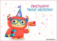 eKartki Urodzinowe Świętujemy Twoje Urodziny,