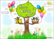 eKartki Urodzinowe Szczęśliwego Dnia Urodzin,