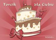 eKartki elektroniczne z tagiem: Darmowe e kartki na urodziny Torcik dla Ciebie,