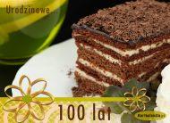 eKartki elektroniczne z tagiem: Darmowe e kartki na urodziny Urodzinowe 100 lat,
