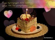 eKartki Urodzinowe Urodzinowe ciasto,