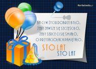 eKartki Urodzinowe Urodzinowe sto lat,