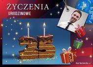 eKartki elektroniczne z tagiem: 25 urodziny Urodzinowe życzenia 25,