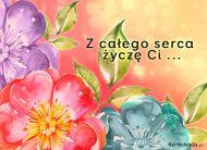 eKartki Urodzinowe Z ca³ego serca,