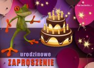 eKartki Urodzinowe Zapraszam na urodziny,