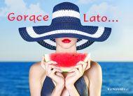eKartki elektroniczne z tagiem: Pozdrowienia z wakacji Gorące lato,