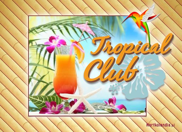 Tropikalny koktajl