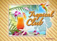 eKartki elektroniczne z tagiem: Urlop Tropikalny koktajl,
