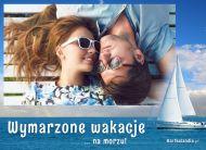 eKartki elektroniczne z tagiem: Pozdrowienia z wakacji Wakacje na morzu,