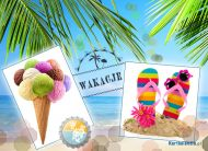 eKartki elektroniczne z tagiem: Pozdrowienia z wakacji Wakacyjne dni,