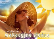 eKartki elektroniczne z tagiem: Pozdrowienia z wakacji Wakacyjne słońce,