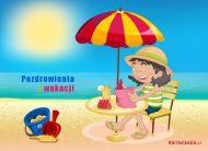 eKartki Wakacje Pozdrowienia z wakacji,