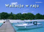 eKartki elektroniczne z tagiem: Pozdrowienia z wakacji Wakacje w raju,