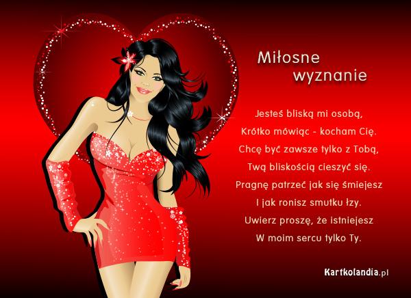 Kartka na Walentynki