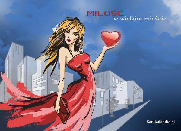 eKartki elektroniczne z tagiem: e-Kartki walentynkowe Miłość w wielkim mieście,