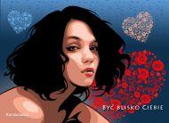 eKartki Miłość - Walentynki Być blisko Ciebie,