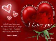 eKartki Miłość - Walentynki Gorące uczucie,