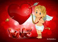 eKartki Miłość - Walentynki Kartka miłości,