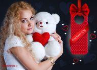 eKartki Miłość - Walentynki Kocham Cię Misiu,