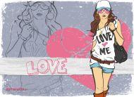 eKartki Miłość - Walentynki Obraz miłości,