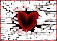 eKartki Mi³o¶æ - Walentynki Silna mi³o¶æ,