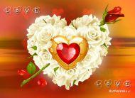 eKartki Miłość - Walentynki Subtelna miłość,