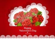 eKartki Miłość - Walentynki Walentynkowe róże,